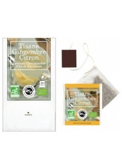 Tisane Gingembre Citron bio