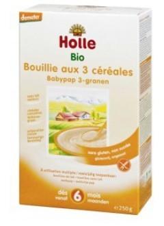 Bouillie 3 céréales - sans lait