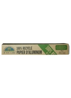 Papier aluminium 100% recyclé