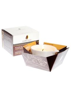 Bougie de massage au Karité Pur – Parfum Mangue