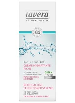 Crème hydratante riche Basis