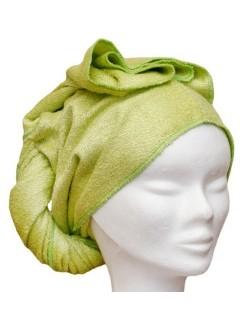 Serviette à cheveux Verte