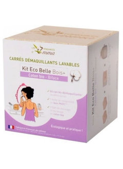 Kit Eco Belle bois - Bi Face coton