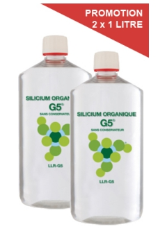 Silicium Organique G5 - Offre promo 2 Litres