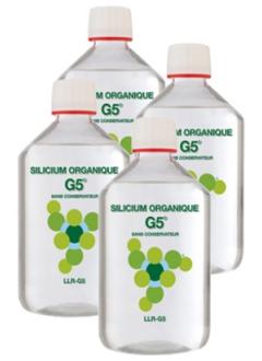 Silicium Organique G5 - Offre promo 4 x 500 ml