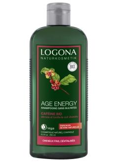 Shampooing age energy à la caféine