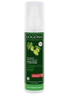 Spray coiffant fixant résines végétales
