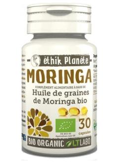 Moringa Huile Bio - 30 capsules