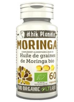 Moringa Huile Bio - 60 capsules