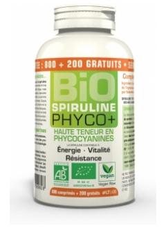 Spiruline bio Phyco+ - 1000 comprimés