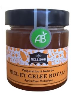 Mélange de Miel Bio et Gelée royale Bio à 10%