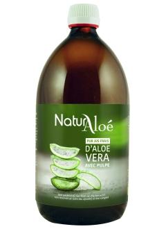 Pur jus frais d'aloé vera bio - 500 ml
