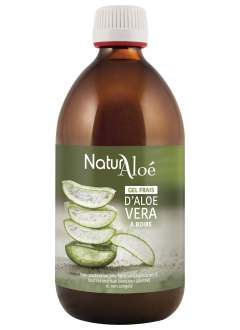Gel buvable d'Aloé vera 500 ml