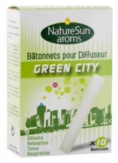 Recharges bâtonnets pour diffuseur Green City