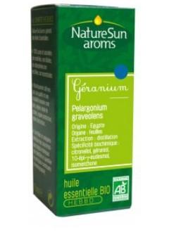 Huile essentielle Géranium bio