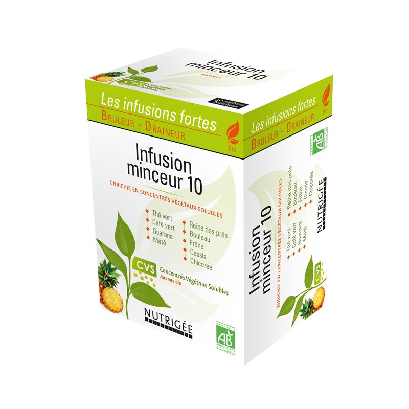 Infusion minceur 10