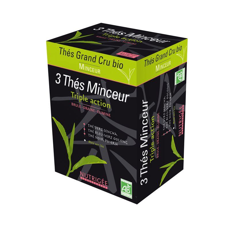 3 thés minceur Bio