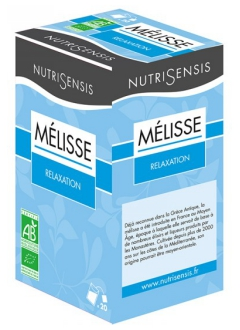 Infusion Mélisse bio - Relaxation