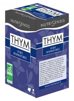 Infusion Thym bio - Voies respiratoires