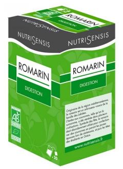 Infusion Romarin bio - Digestion