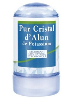 Cristal d'alun naturel - Stick 60 g