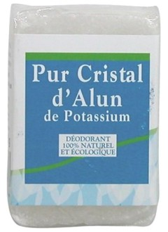 Cristal d'alun naturel - Pain 100 g