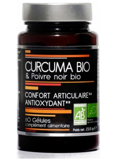 Curcuma bio et poivre noir Bio