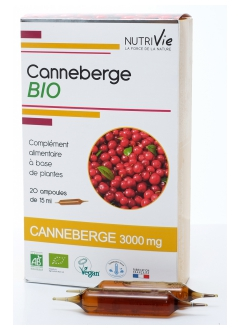 Canneberge BIO - Ampoules