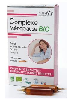 Complexe Ménopause BIO - Ampoules