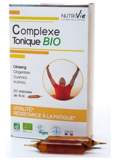 Complexe Tonique BIO - Ampoules