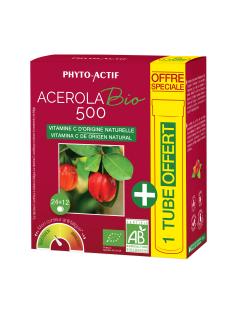 Acérola Bio 500 - Offre spéciale