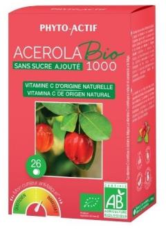Acérola sans sucre ajouté bio 1000
