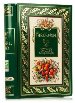 Livre Thé de Noël Orange-cannelle-gingembre bio