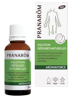 Solution défenses naturelles Aromaforce