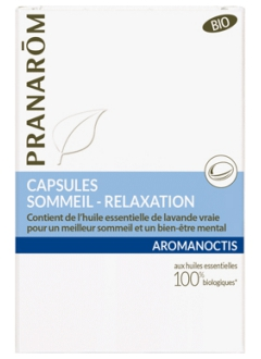 Capsules sommeil - relaxation Aromanoctis