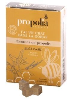 Gommes de propolis - miel et vanille