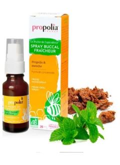 Spray buccal fraîcheur bio - Propolis Menthe
