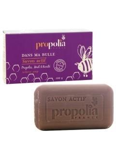 Savon actif propolis, miel & karité
