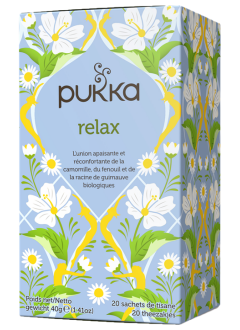 Relax - Tisane Bio Ayurvédique