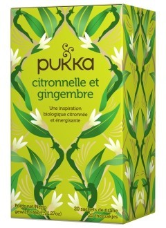 Lemongrass & Ginger - Tisane Bio Ayurvédique