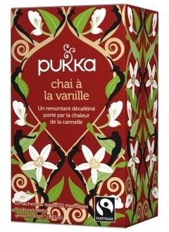 Vanilla Chai - Tisane Bio Ayurvédique