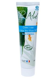 Crème à raser Bio 50% Aloé Vera