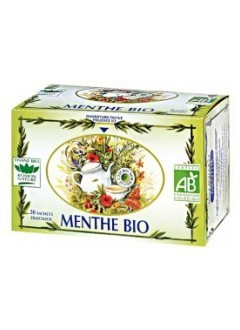 Tisane Menthe bio