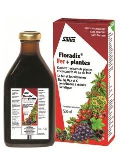 Floradix fer + plantes 500 ml