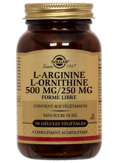 L-Arginine L-Ornithine 500 / 250 mg