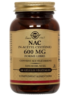 NAC N-Acétyl Cystéine 600 mg