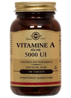 Vitamine A Seche