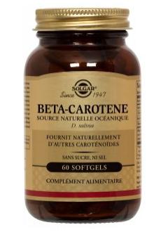 Bêta carotène 7 mg