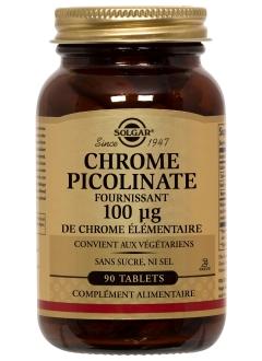 Chrome picolinate 0,1 mg - 90 comprimés