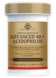 Advanced 40 plus Acidophilus - 60 gélules